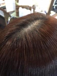 こまめな白髪染めも 小山市にあるカットが人気の美容室カルマルーチェ