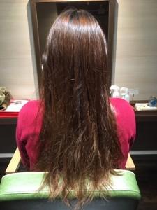 細い髪もケア次第 小山市にあるカットが人気の美容室カルマルーチェ
