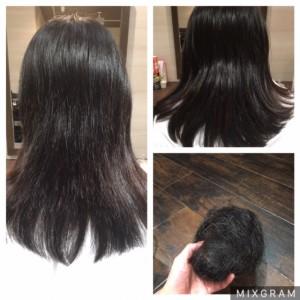 多毛さん、太い髪の方にも 小山市にあるカットが人気の美容室カルマルーチェ